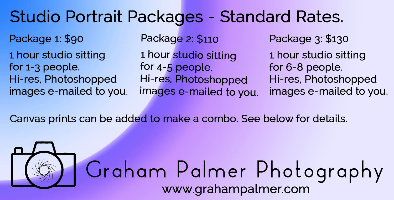 Portrait Pricing